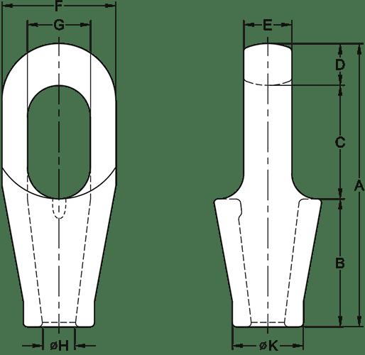 closed spelter sockets technical
